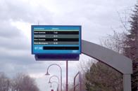 户外LCD应用到交通指示
